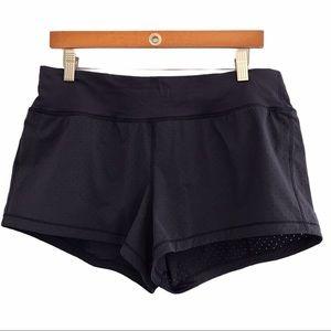 Lululemon women's Final Lap shorts navy size 10